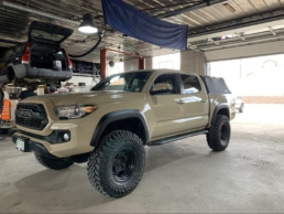 Brown Toyota Tacoma TRD Custom Lifted 4x4 Modifications