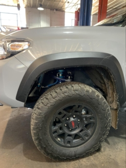 Lifted Toyota TRD Offroad Gray Mud